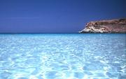 Лучший пляж 2013 г Lampedusa,  Italy.